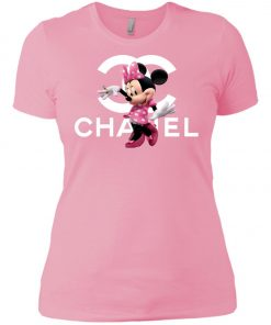 Chanel Mickey Pink Women's T-Shirt amazon best seller