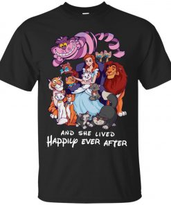 Disney Princess And She Lived Happily Ever After Classic T-Shirt Amazon Best Seller