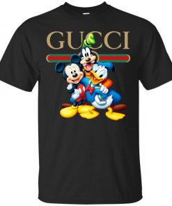 check out 337ed c7996 Gucci Gang Disney Mickey Pluto And Donald Classic T-Shirt