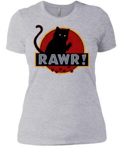 Jurassic Cat Rawr Women's T-Shirt