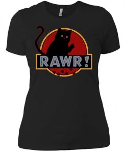 Jurassic Cat Rawr Women's T-Shirt amazon best seller