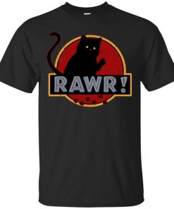 Jurassic Cat Rawr Classic T-Shirt amazon best seller