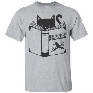 Cat Reading A Book Classic T-Shirt