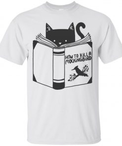 Cat Reading A Book Classic T-Shirt amazon best seller