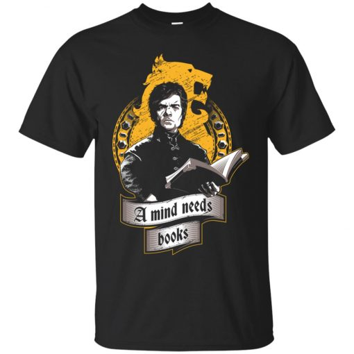 Tyrion Lannister A Mind Needs Books Classic T-Shirt Amazon Best Seller