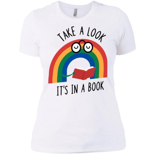Take A Look Its In A Book Women's T-Shirt