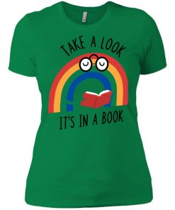 Take A Look Its In A Book Women's T-Shirt amazon best seller