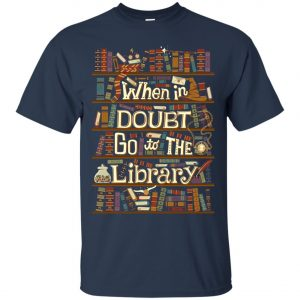 When In Doubt Go To The Library Classic T-Shirt amazon best seller