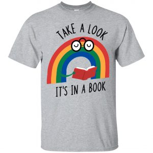 Take A Look Its In A Book Classic T-Shirt