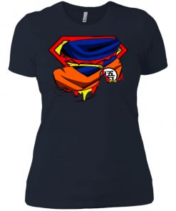 Goku Stronger Than Superman Women's T-Shirt