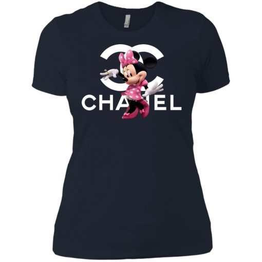 Chanel Mickey Pink Women's T-Shirt