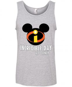 Incredible Day At Disney Mickey Tank Top amazon best seller