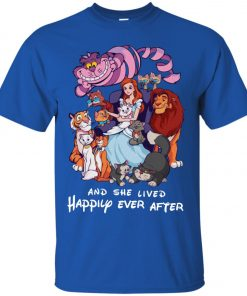 Disney Princess And She Lived Happily Ever After Classic T-Shirt