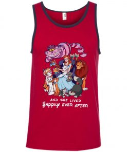 Disney Princess And She Lived Happily Ever After Tank Top