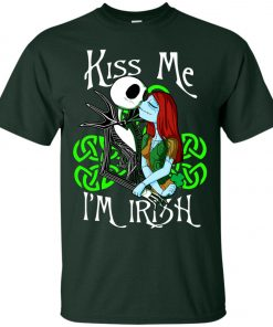 Jack Skellington Nightmare Kiss Me I Am Irish Classic T-Shirt Amazon Best Seller