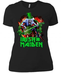 Iron Maiden Irish Women's T-Shirt Amazon Best Seller