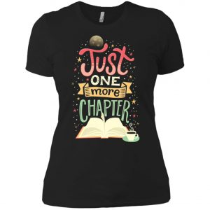 Just One More Chapter Women's T-Shirt amazon best seller