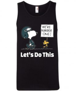 Philadelphia Eagles Snoopy We Are No1 Tank Top Amazon Best Seller