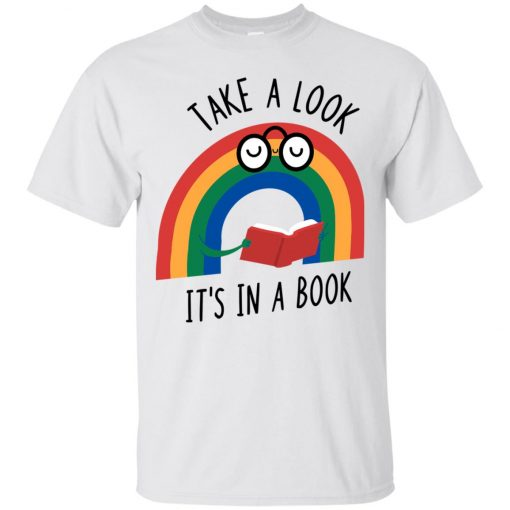 Take A Look Its In A Book Classic T-Shirt amazon best seller