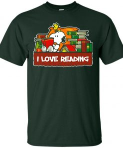 Snoopy Love Reading Classic T-Shirt