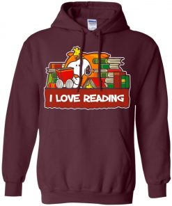 Snoopy Love Reading Hoodie