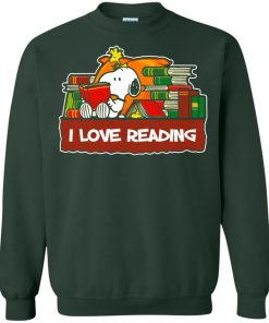 Snoopy Love Reading Sweatshirt