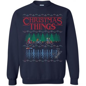 Stranger Christmas Things Ugly Christmas Sweater
