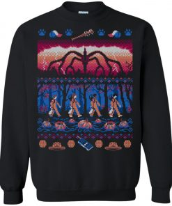 Stranger Things Jungle Ugly Christmas Sweater Amazon Best Seller