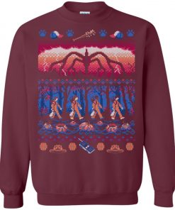 Stranger Things Jungle Ugly Christmas Sweater
