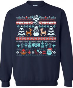 The Island Of Misfit Sweaters Ugly Christmas Sweater