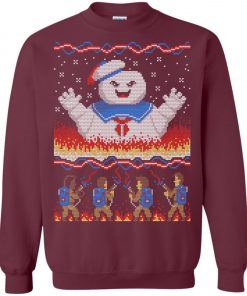 Stay Puft Marshmallow Man Ugly Christmas Sweater