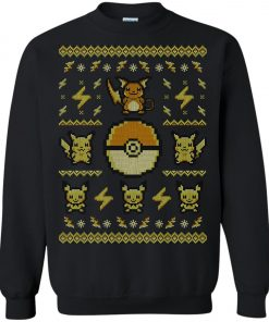 Pokemon Pikachu Ugly Christmas Sweater Amazon Best Seller