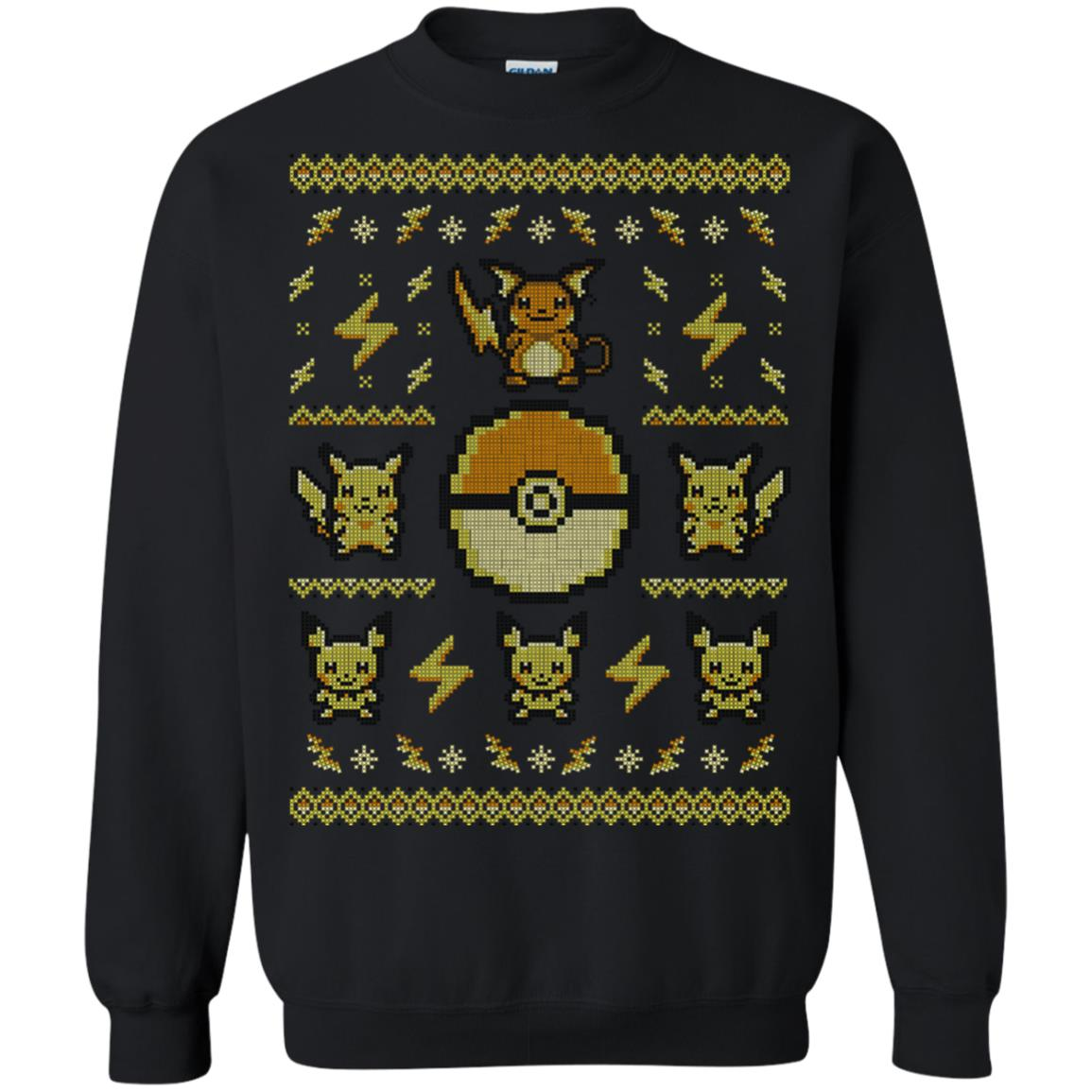 Pokemon Pikachu Ugly Christmas Sweater - Shop Ugly X-mas Sweater