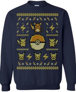 Pokemon Pikachu Ugly Christmas Sweater