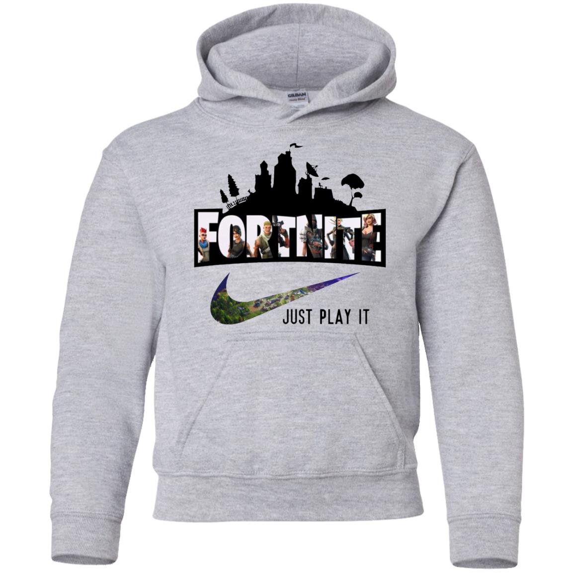 Nike Fortnite Just Play It Youth Hoodie Shop Nike X Fortnite