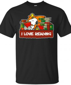 Snoopy Love Reading Classic T-Shirt Amazon Best Seller