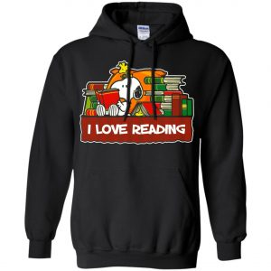 Snoopy Love Reading Hoodie Amazon Best Seller