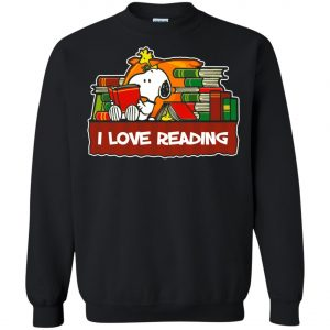 Snoopy Love Reading Sweatshirt Amazon Best Seller