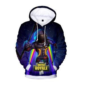 Fortnite Battle Royale VOYAGER Fans Art 3D Hoodie