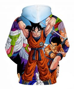DragonBall Goku And Friends 3D Hoodie