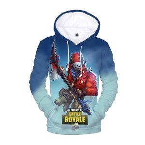 Fortnite Battle Royale Rust Lord 3D Hoodie