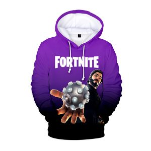 Fortnite Battle Royale The Reaper 3D Hoodie