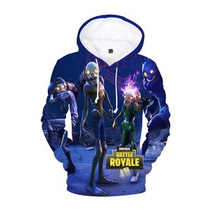 Fortnite Halloween Skeletons 3D Hoodie