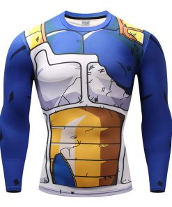 DragonBall Vegeta Broken Amor 3D Fit Long Sleeve