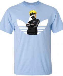 Naruto Adidas White Logo Youth T-Shirt Amazon best Seller