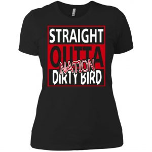 Atlanta Falcons Fanatics Straight Outta Nation Dirty Bird Women's T-Shirt Amazon Best seller