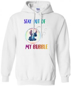 Disney Stitch Stay Out My Bubble Hoodie Amazon best Seller