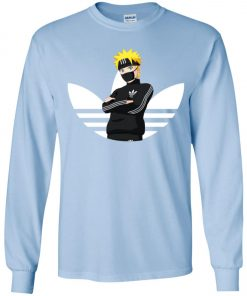 Naruto Adidas White Logo Youth Sweatshirt Amazon best Seller
