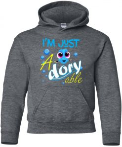 Disney Dory Fish Just Adorable Youth Hoodie Amazon best Seller
