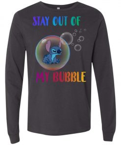 Disney Stitch Stay Out My Bubble Long Sleeve Amazon best Seller
